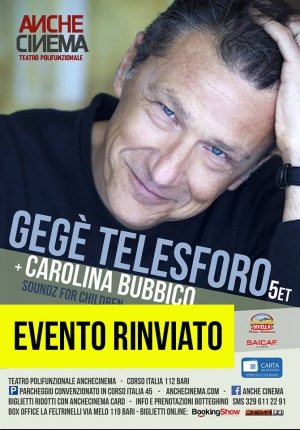 Gegè Felesforo & Carolina Bubbico | Rassegna JAZZ FOR