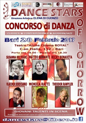 "CONCORSO di DANZA ""DANCE STARS OF TOMORROW"""