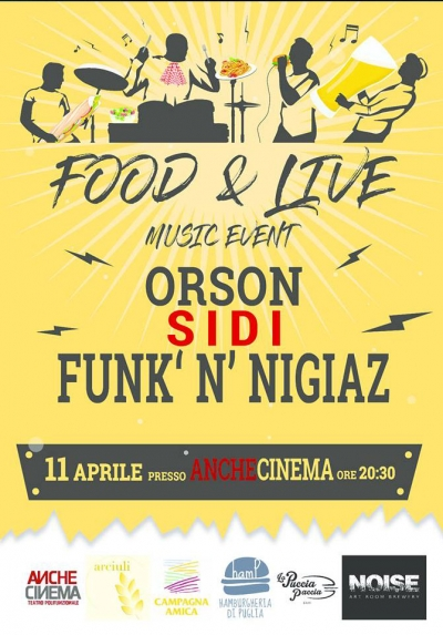 FOOD & LIVE MUSIC EVENT