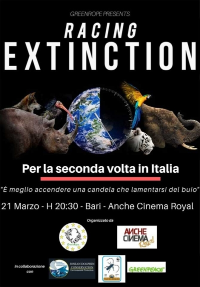 RACING EXTINCTION / documentario